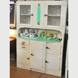 Shabby Chic Kitchen Dresser   Period: 1935   Material: White painted pine
