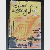 Book- I Saw a Strange Land | Period: 1952 | Make: Arthur Groom | Material: Hardback- Angus & Robertson