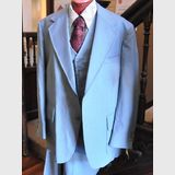 Men's 3 Piece Suit | Period: c1970s | Make: Palm Beach- Big & Tall