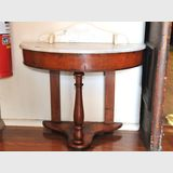 Marble Top Washstand | Period: Victorian c1870 | Material: Mahogany