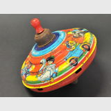 Spinning Top | Period: c1950s | Make: Chad Valley | Material: Tin