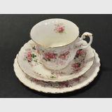Lavender Rose Trio   Period: c1960s   Make: Royal Albert   Material: Porcelain