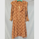 Vintage Flapper Summer Dress | Period: c1920s | Make: Handmade | Material: Silk