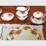 Royal Albert Dinner Set | Period: c1970s | Make: Royal Albert | Material: Porcelain