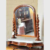 Cedar Toilet Mirror | Period: Victorian c1880 | Material: Cedar