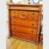 Cedar Chest of Drawers   Period: Victorian c1870   Material: Cedar