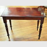Cedar Hall Table | Period: Victorian c1870 | Material: Cedar