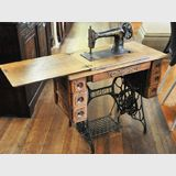 Sewing Machine | Period: Edwardian c1912 | Make: Singer