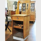 ANZ Banking Booth | Period: c1950 | Make: Handmade | Material: Pine