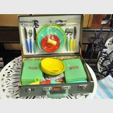 Picnic Set | Period: Retro- 1950s-1980s | Make: Carefree | Material: Plastic