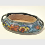 Gouda Trough | Period: c1915 | Make: Gouda | Material: Pottery