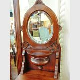 Cheval Dressing Table | Period: Arts and Crafts c1900 | Material: Hoop pine