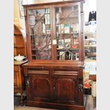 Astragal Glazed Bookcase | Period: Victorian c1890 | Material: Mahogany