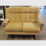 Retro Teak Lounge Suite | Period: 1974 | Make: Chiswell | Material: Teak and velvet velour