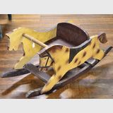 Rocking Horse | Period: c1950s | Material: Timber