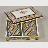 Wedgwood Boxed Playing Cards | Period: c1990s | Make: Wedgwood | Material: Porcelain and card
