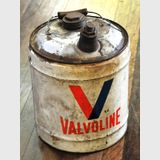 Valvoline Fuel Drum | Period: c1950s | Make: Valvoline | Material: Metal
