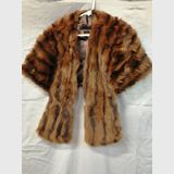 Fox Fur Stole | Period: c1940s | Material: Fox fur