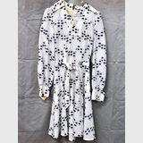 Dotty Dress | Period: c1970s | Make: Dressmaster | Material: Polyester