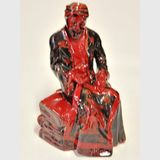 Flambe Carpet Seller | Period: 1990-95 | Make: Royal Doulton | Material: Porcelain