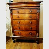 Scotch Chest of Drawers | Period: Victorian c1870 | Material: Walnut