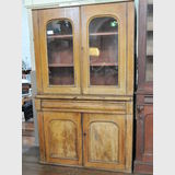 Cedar Bookcase | Period: Victorian c1880 | Material: Cedar