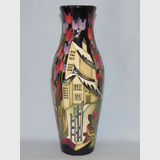 Moorcroft Town of Flowers vase | Period: Contemporary | Make: Moorcroft | Material: Pottery | Moorcroft Town of Flowers vase 120/9