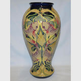 Moorcroft Fishy McGinty vase | Period: Contemporary | Make: Moorcroft | Material: Pottery | Moorcroft vase Fishy McGinty 46/12