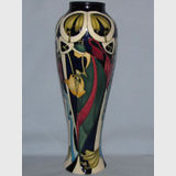 Moorcroft Fair Lady vase | Period: Contemporary | Make: Moorcroft | Material: Pottery | Moorcroft The Fair Lady 121/10
