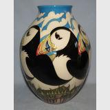 Moorcroft Lindisfarne vase | Period: Contemporary | Make: Moorcroft | Material: Pottery | Moorcroft Lindisfarne vase 3/8