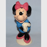 Royal Doulton Minnie Mouse | Period: 1998 | Make: Royal Doulton | Material: Pottery | Royal Doulton Minnie Mouse MM2 70th Anniversary