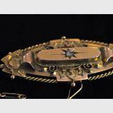Diamond Brooch | Period: Edwardian 1913 | Make: Chester 1913 | Material: 9ct gold & diamond