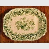 Stapled Copeland & Garrett Platter | Period: 1833-47 | Make: Copeland & Garrett  Late Spode | Material: Porcelain