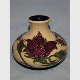 Moorcroft Pulsatilla vase | Period: Contemporary | Make: Moorcroft | Material: Pottery | Moorcroft Pulsatilla 32/5
