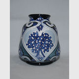 Moorcroft Forget Me Not Blue vase | Period: Contemporary | Make: Moorcroft | Material: Pottery | Moorcroft Forget Me Not Blue vase Shape 198/3