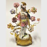 Meissen Style Figure | Period: Early 19th century | Make: Possibly Meissen | Material: Porcelain & Gilt Metal