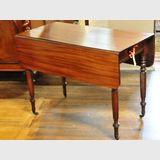 Pembroke Table | Period: Victorian c1850 | Material: Mahogany