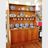 Colonial Hutch- Dresser | Period: Victorian c1890 | Material: Hoop pine