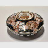 Imari Bowl & Cover | Period: Meiji Period c1910 | Material: Porcelain