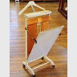 Retro Clothes Press | Period: c1950s | Make: Windsor Pressmaster | Material: Pine