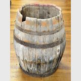 Old Barrel | Period: Victorian 1880 | Make: Hand Coopered | Material: Wood with iron bands