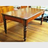 Dining Table | Period: Victorian c1880 | Material: Hoop pine top, cedar base