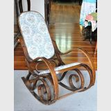 Bentwood Rocker | Period: c1980s | Material: Steamed and bent timber