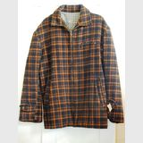 Lumber jacket | Period: c1950s | Material: Wool