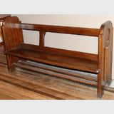 Small Pew | Period: Victorian c1890 | Material: Maple