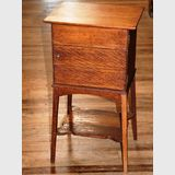 Fitted Sewing Cabinet | Period: Edwardian 1916 | Material: English Oak