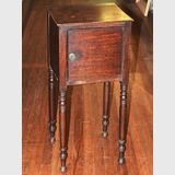 Side Table / Cabinet | Period: Georgian c1820s | Material: Mahogany