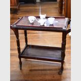 Tea Trolley | Period: c1930s | Material: Tasmanian Oak