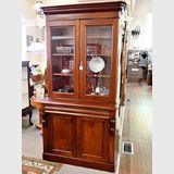 Cedar Double-Height Bookcase | Period: Victorian 1880 | Material: Cedar