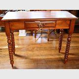 Side Table/ Desk | Period: Victorian c1890 | Material: Cedar